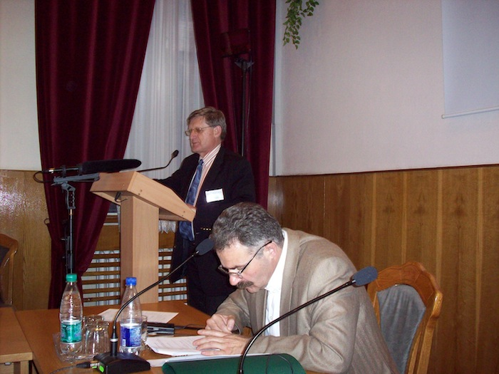 Conference at the Academy of Sciences in Kiev (Ukraine)