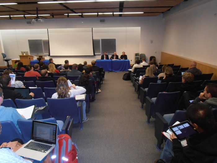 Conference at a University in Idaho (USA)