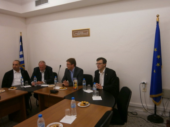 Meeting with representatives of political parties